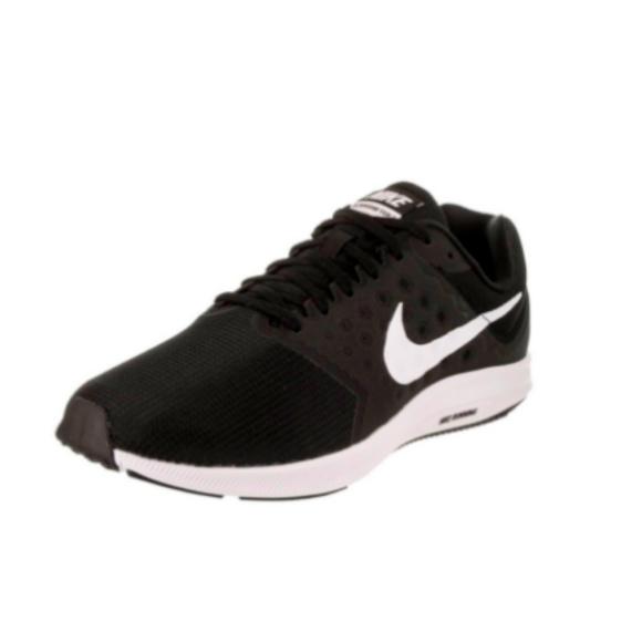 a7e08bb48d298 Downshifter 7 Womens Black Mesh Running Sneakers. Boutique. Nike